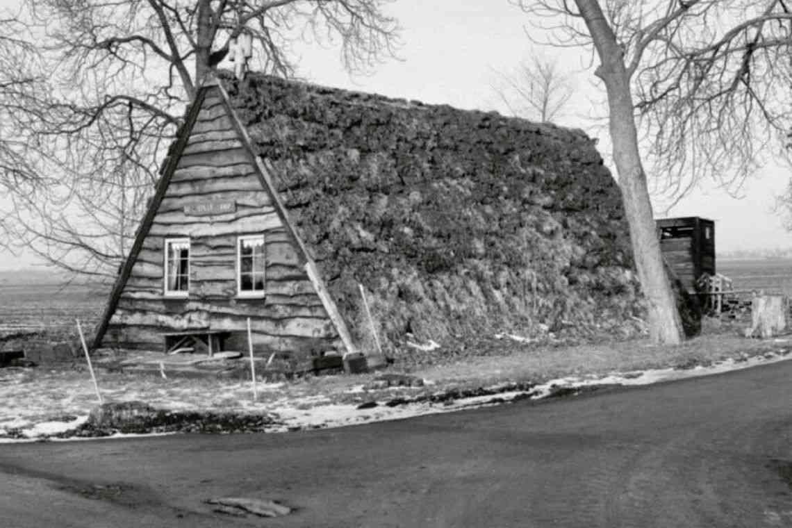 A história do chalé de madeira
