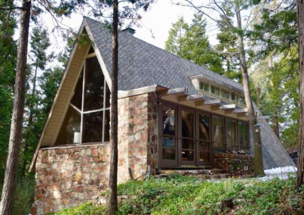 chalé de madeira casa bennati
