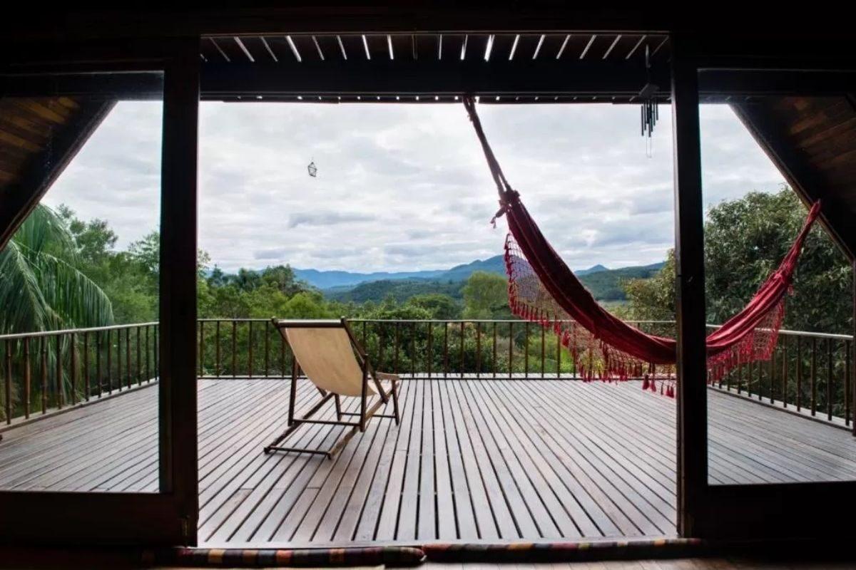 chalés no Brasil - rio grande do sul - chalé na montanha
