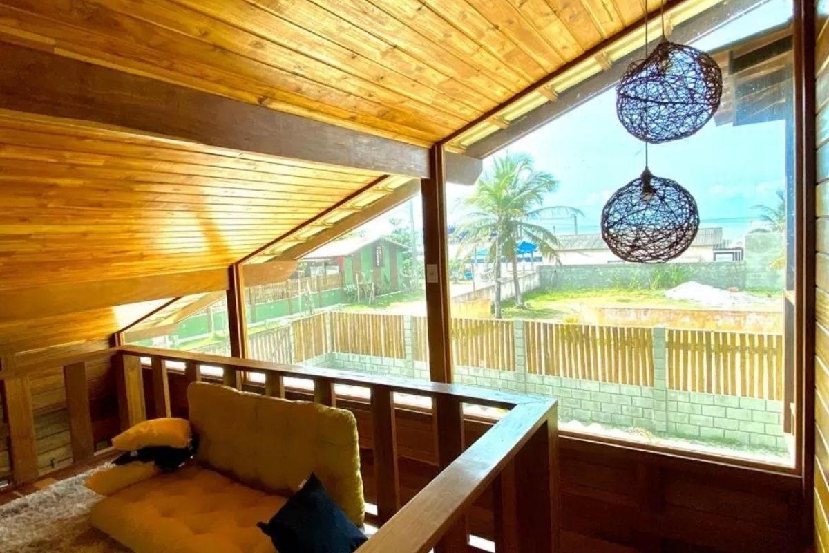 chales no brasil - bahia - casa de madeira rústica