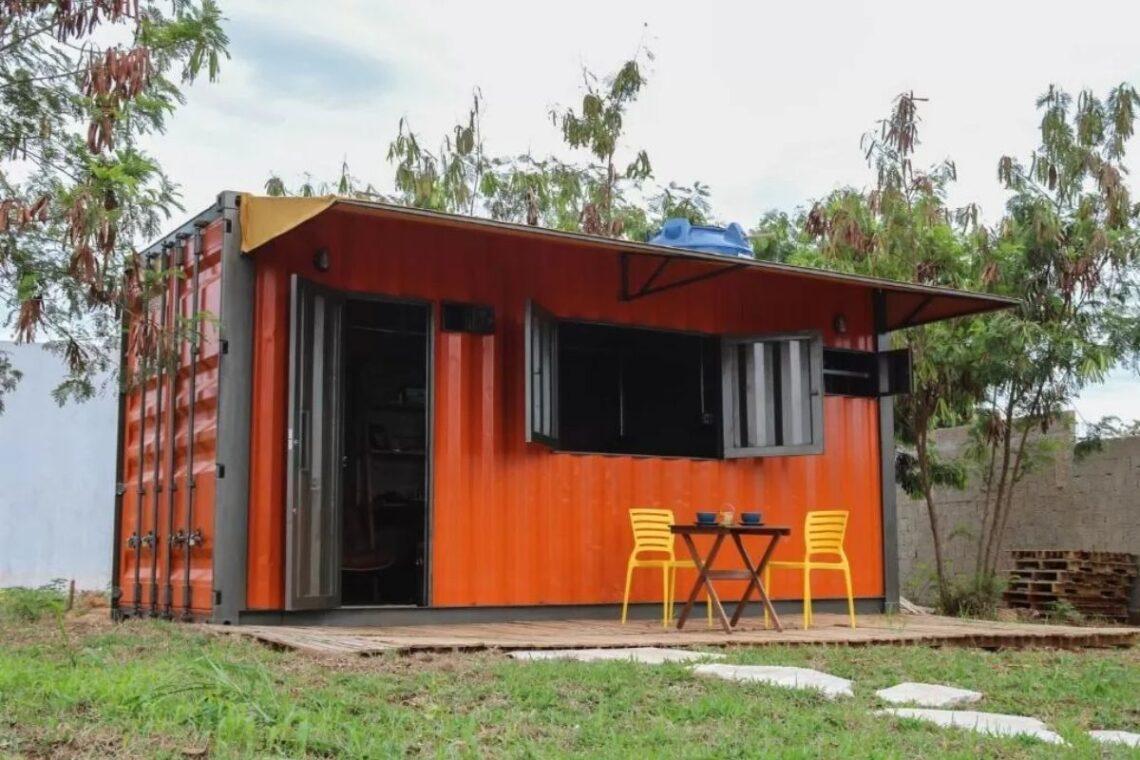 chalés no brasil - distrito federal - casa container