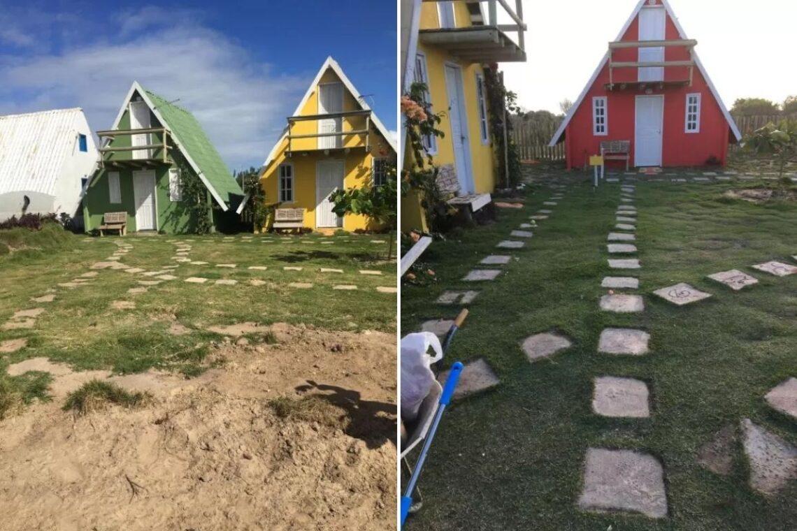 chalés no brasil - espirito santo - chalé barco de areia