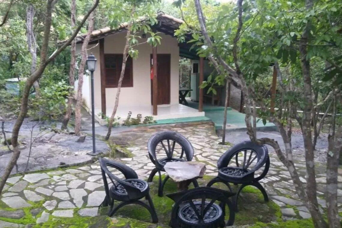 chales no brasil - goias - chalé ipe turismo