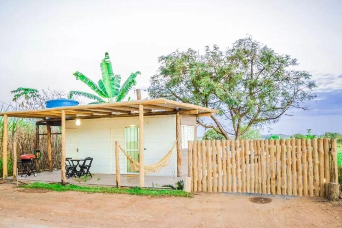 chales no brasil - mato grosso - mini casa container
