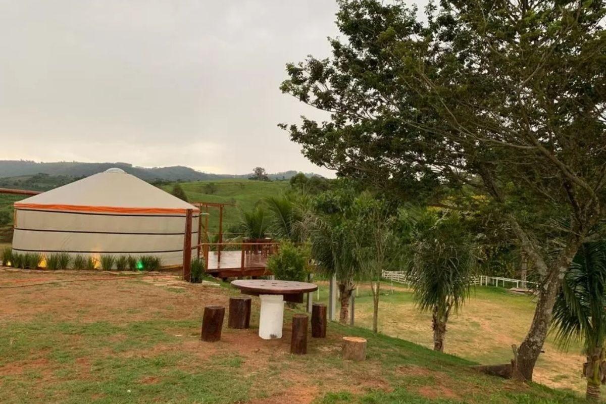 chalés no brasil - minas gerais - yurt haras