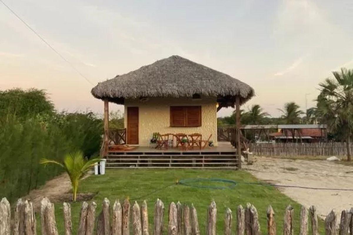 chales no brasil - piaui - chalé vila do meio