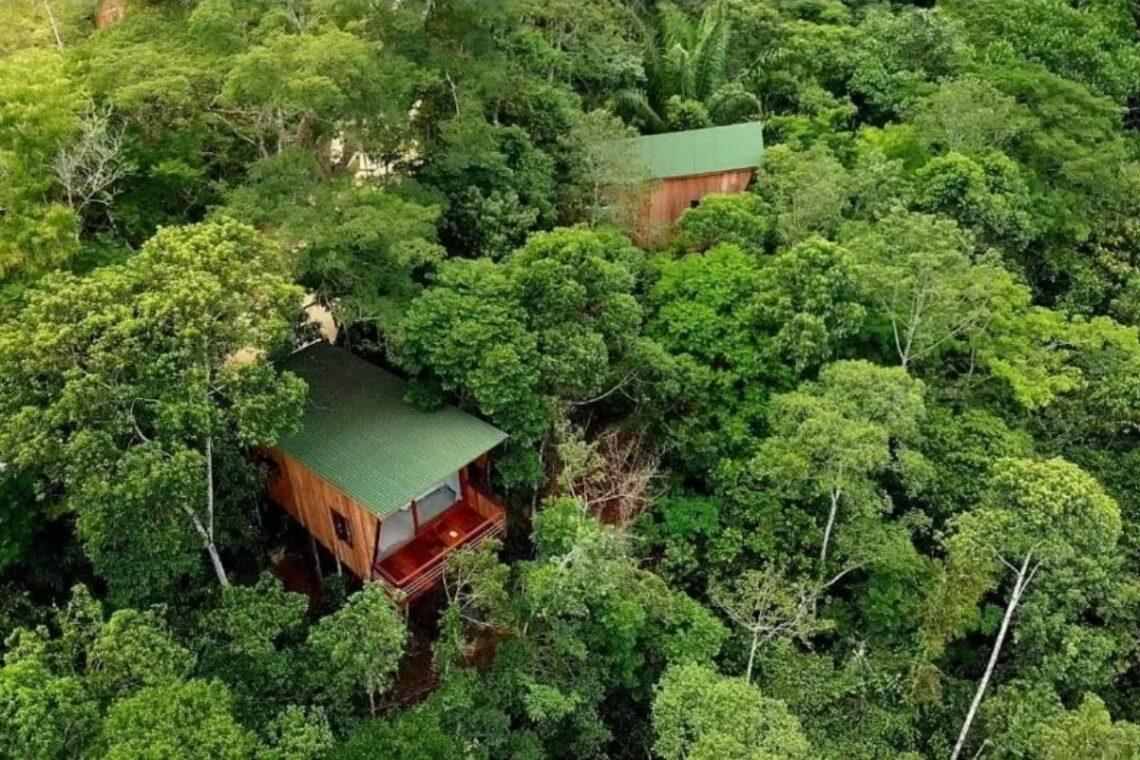 chalés no brasil - rio de janeiro - la luciole ecolodge