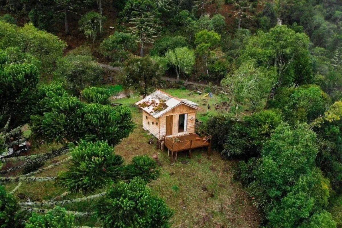 chales no brasil - santa catarina - chalés das araucárias