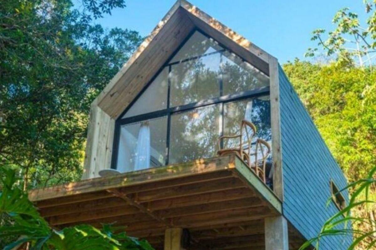 chales no brasil - santa catarina - tiny house lar vivo