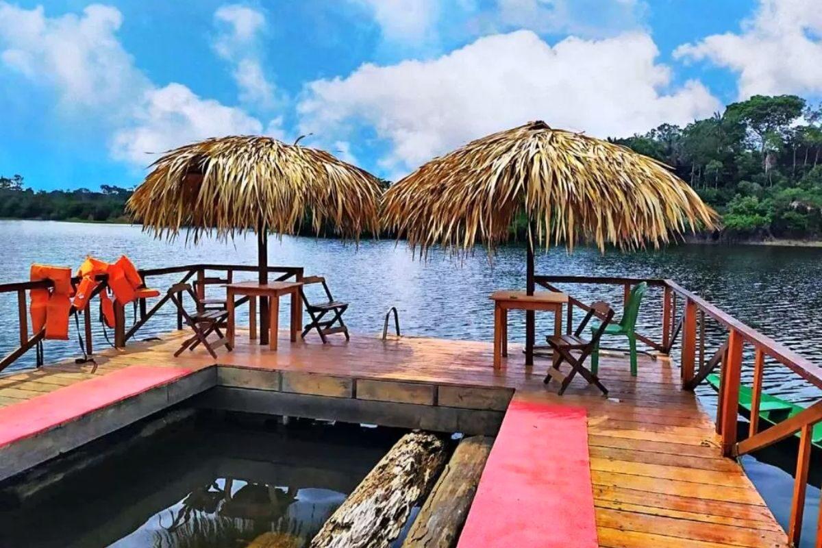 chales no brasil - amazonas - ipanema lodge