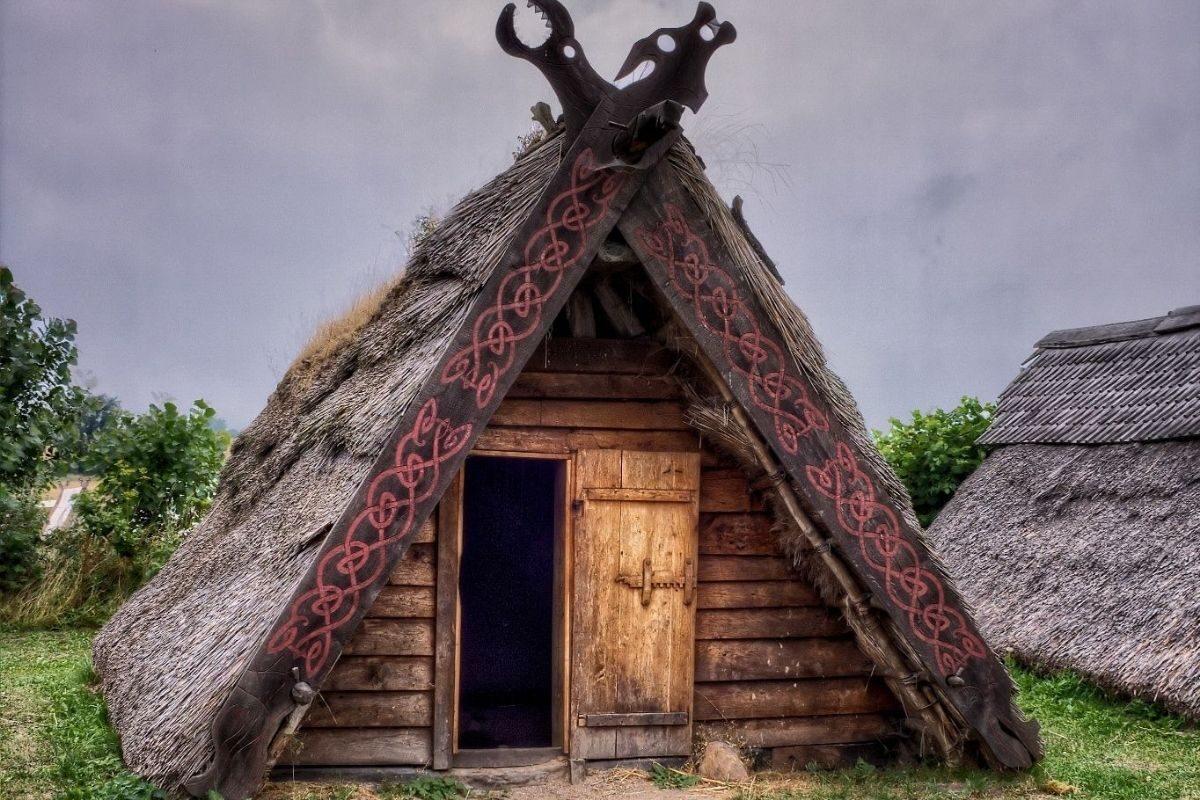 o que é um chalé viking
