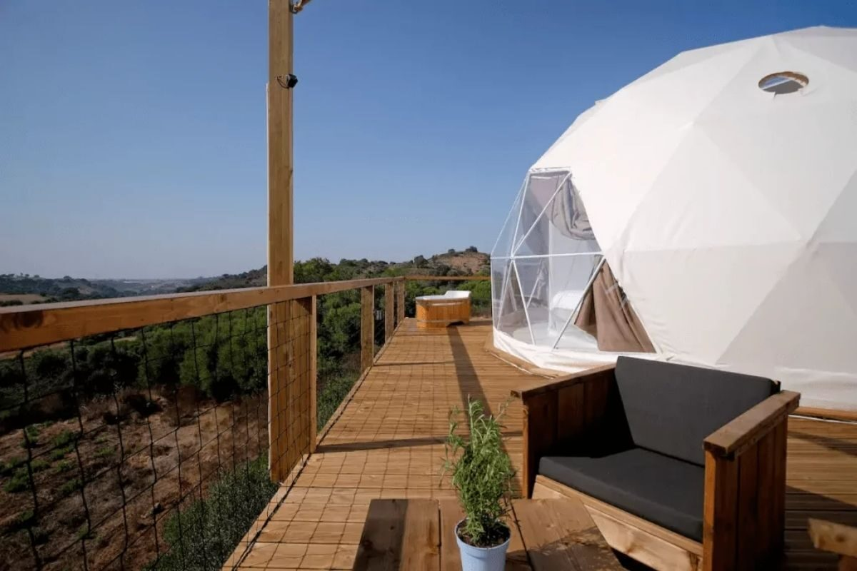 Domo Geodésico em Setúbal 1
