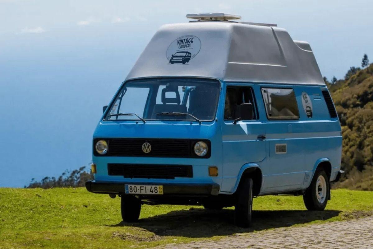 Hospedagem em Autocaravana VW T3 na Madeira 1