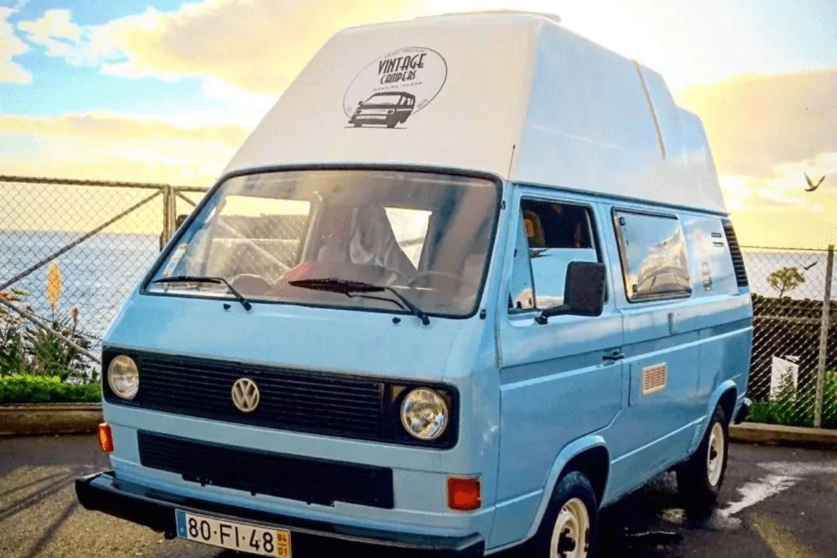 Hospedagem em Autocaravana VW T3 na Madeira 3