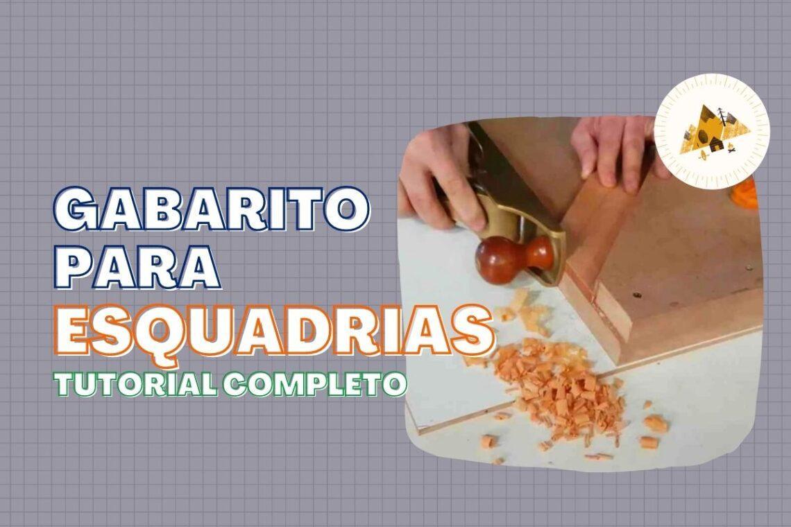 Gabarito para Esquadrias