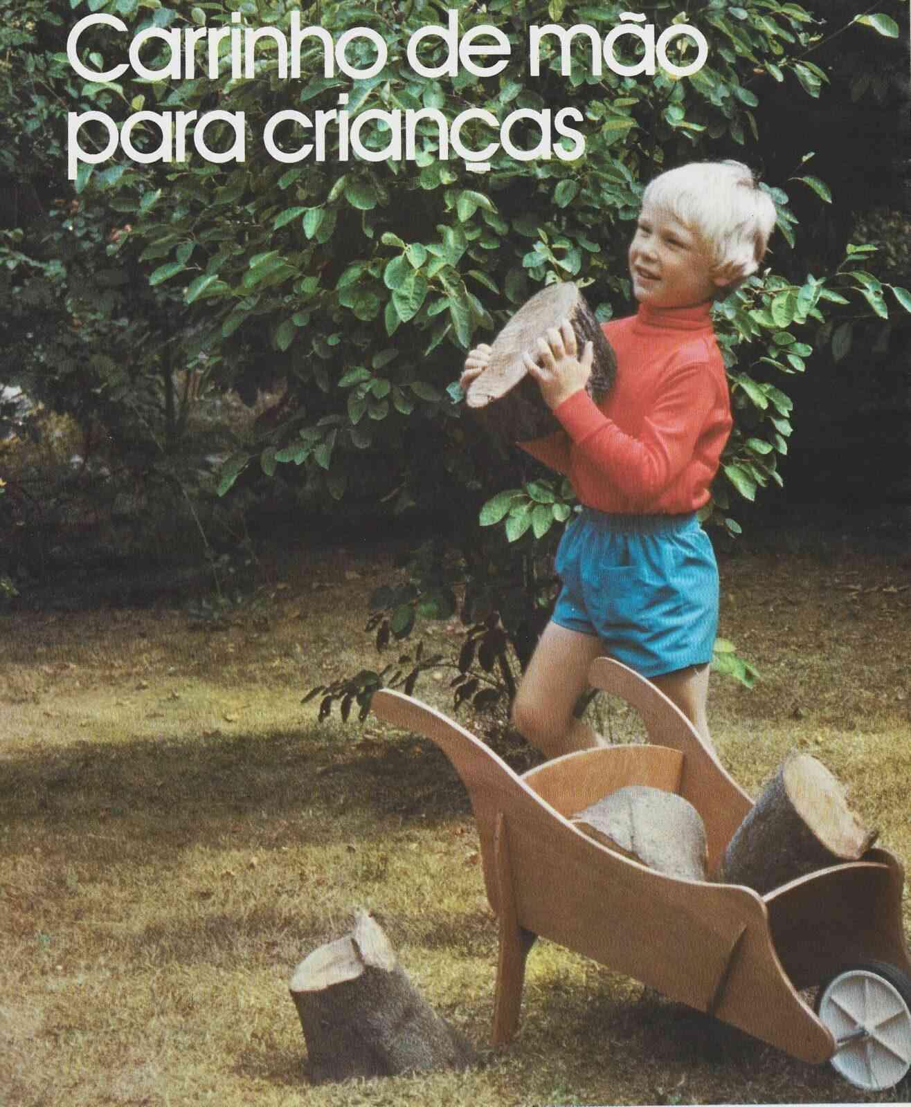 carrinho de mão para crianças