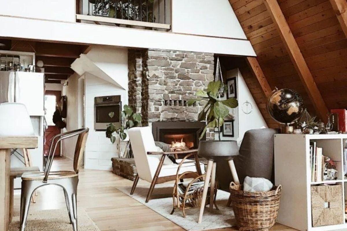 casa chalé interior 1