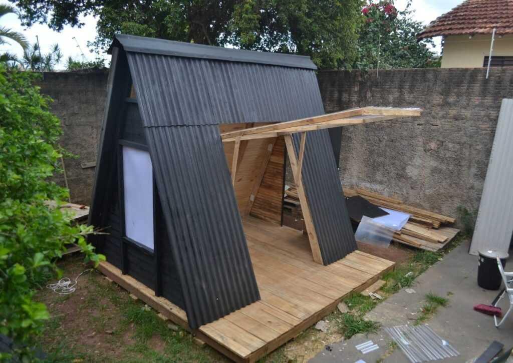 como construir um chalé fachada 3