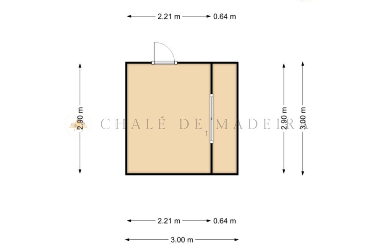 como construir um chalé planta baixa