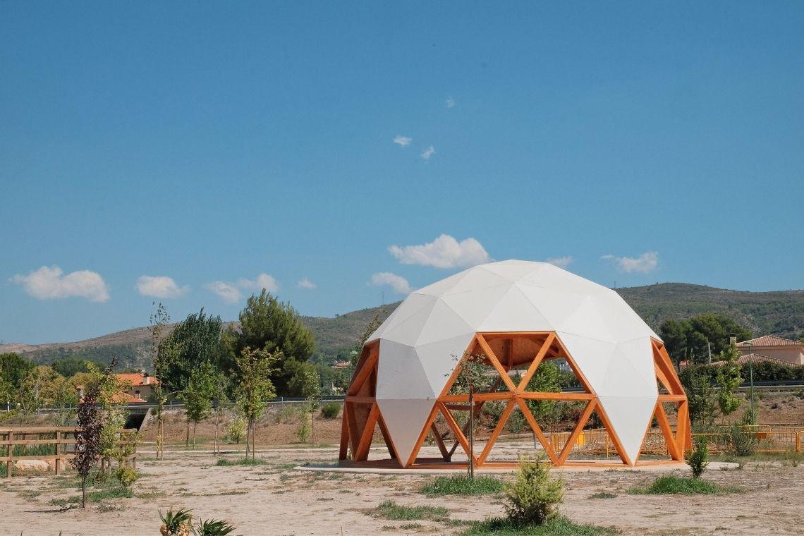 domo geodésico