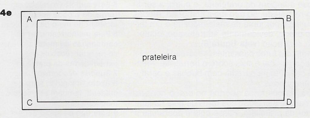 ilustração de instalação de prateleiras no passo 4e