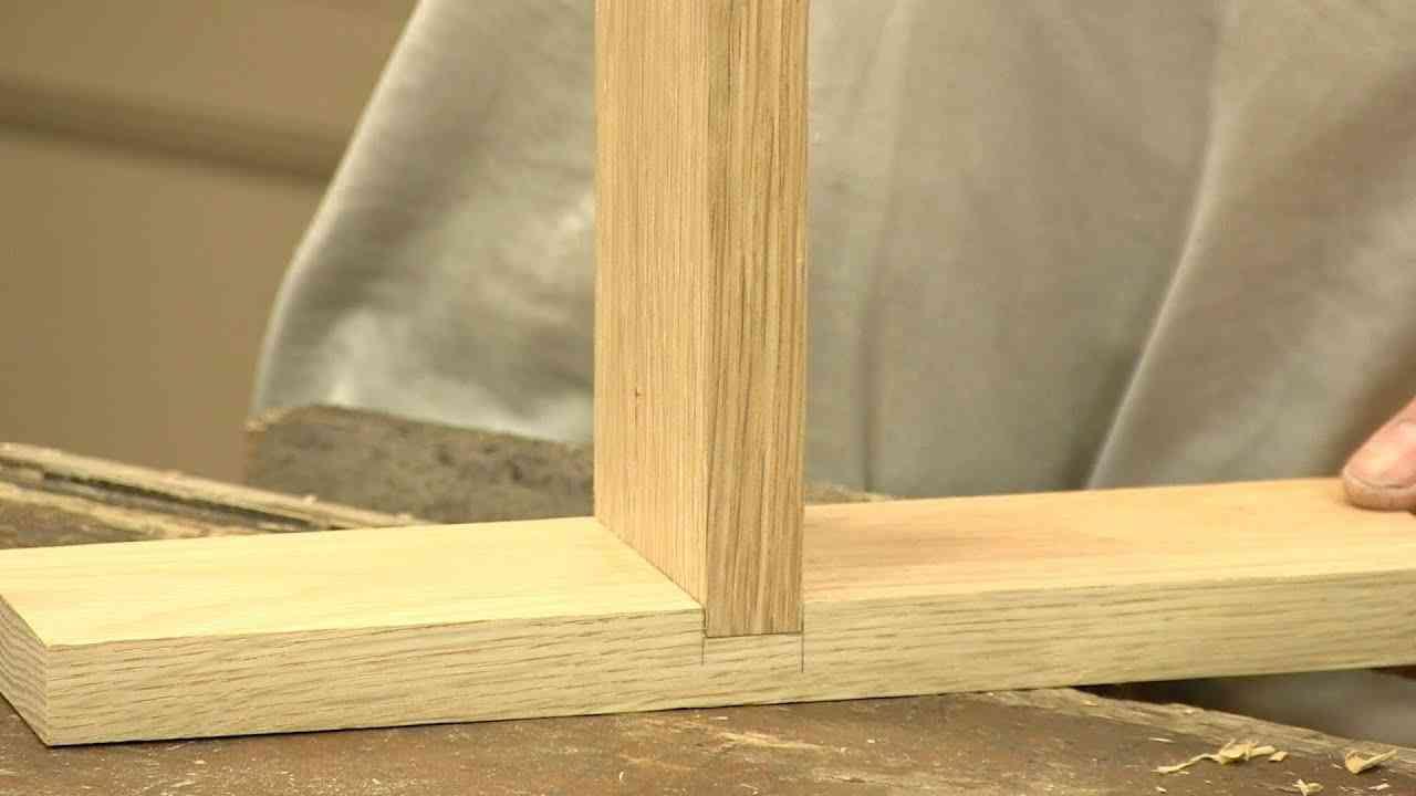 junta em meia-madeira