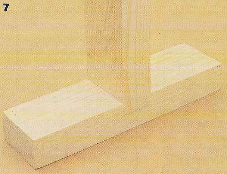 Junta rabo-de-andorinha: como fazer passo 31