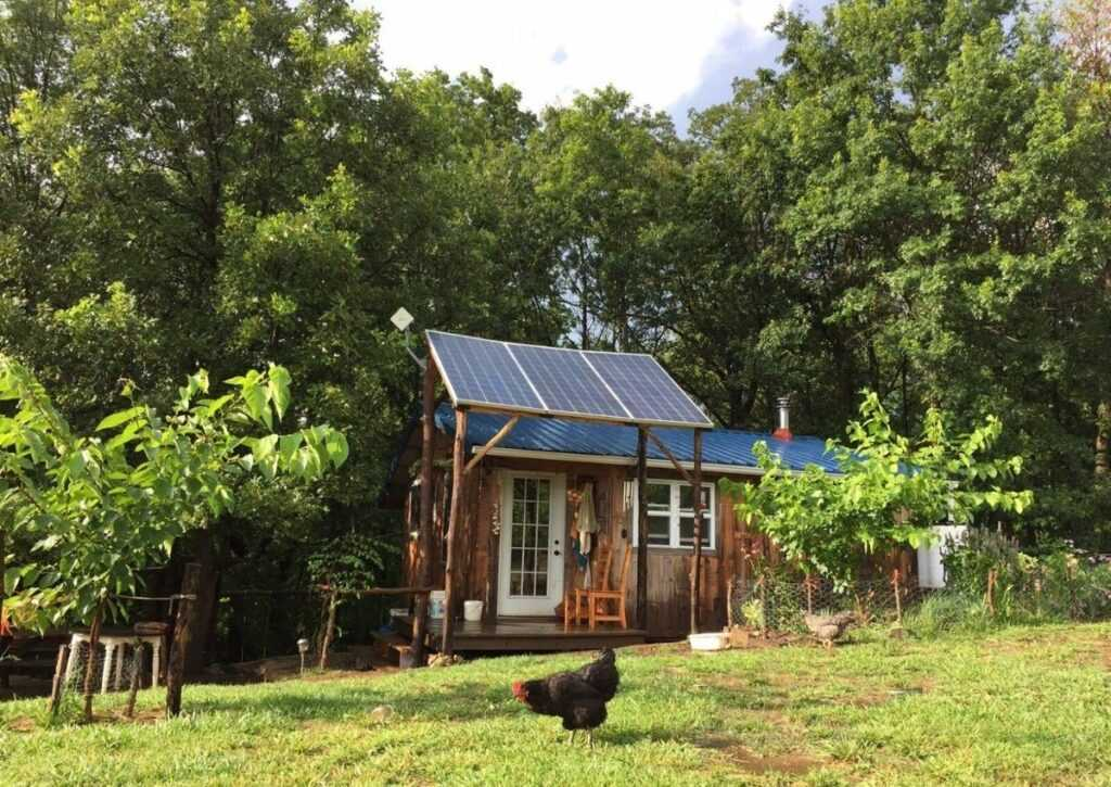 vivendo off grid tiny house
