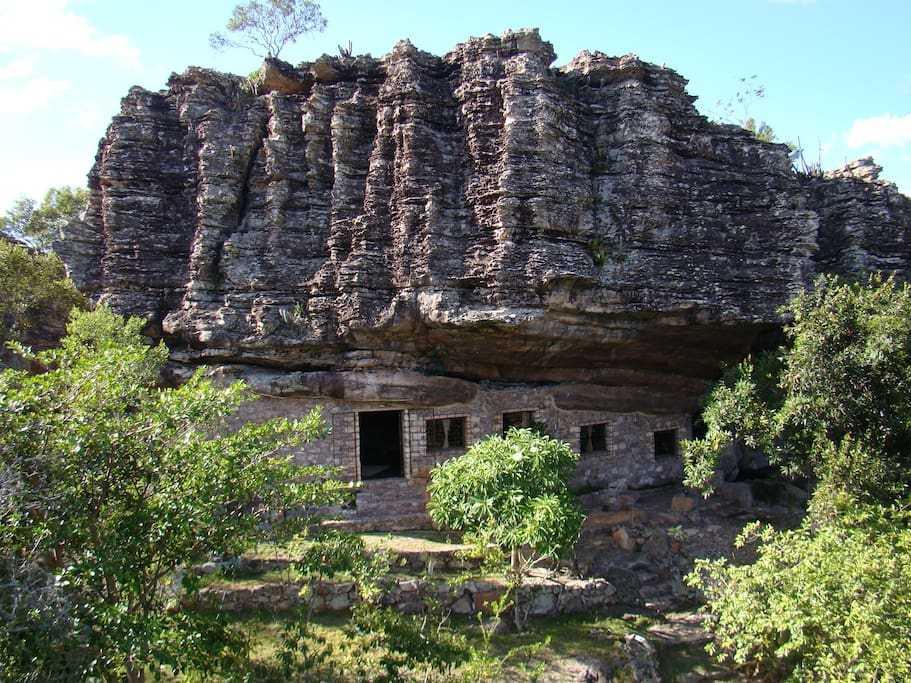 Casa de Pedra em Igatu foto 1