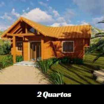 casa de madeira pré-fabricada de 2 quartos em promoção na black friday