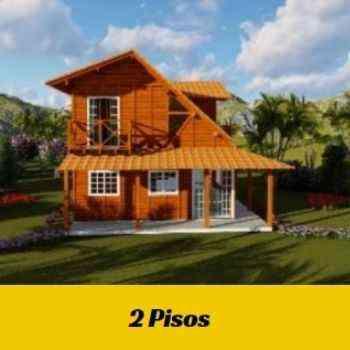 casa de madeira pré-fabricada de 1 piso em promoção na black friday