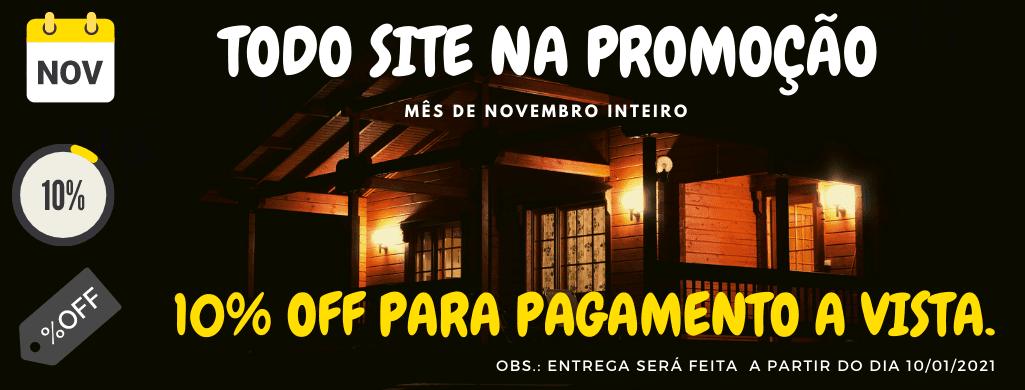 banner com promoção de black friday