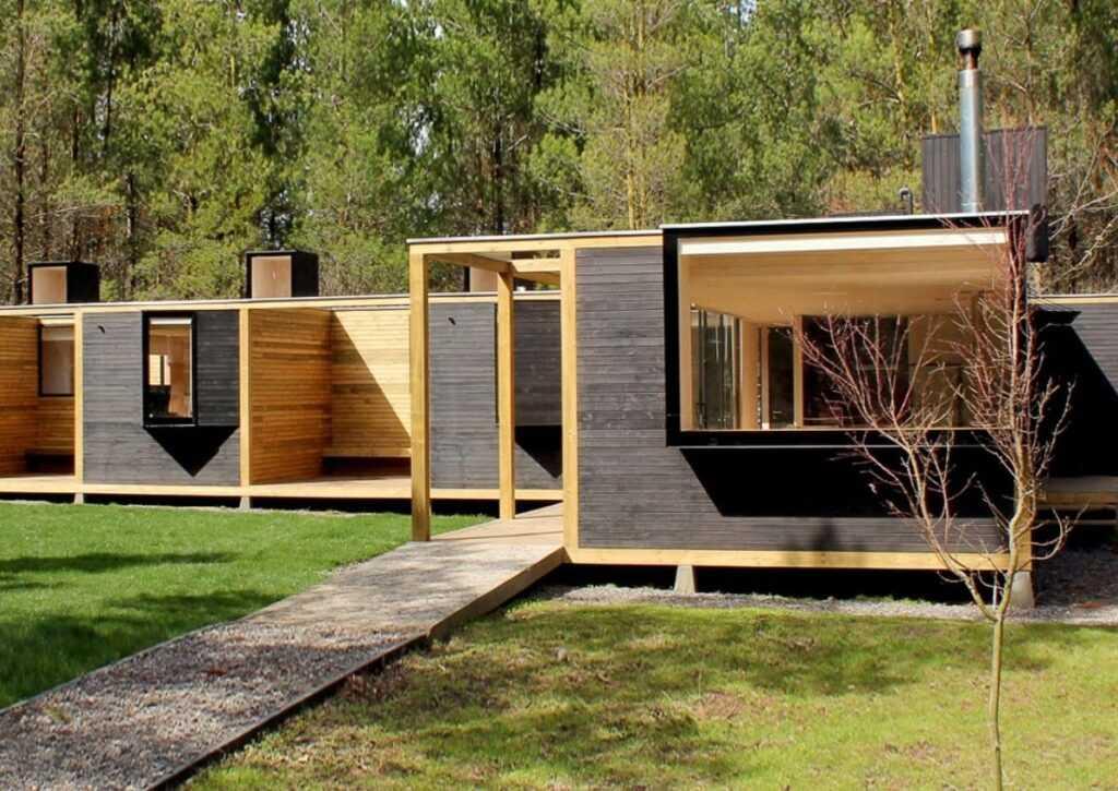 casa pré-moldada em madeira 2