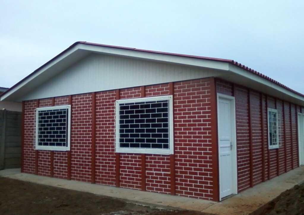 casa pré-moldada em tijolo ecológico 2