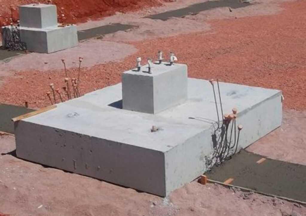 tipo de fundação satapa isolada