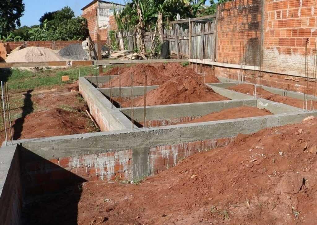 tipo de fundação viga baldrame