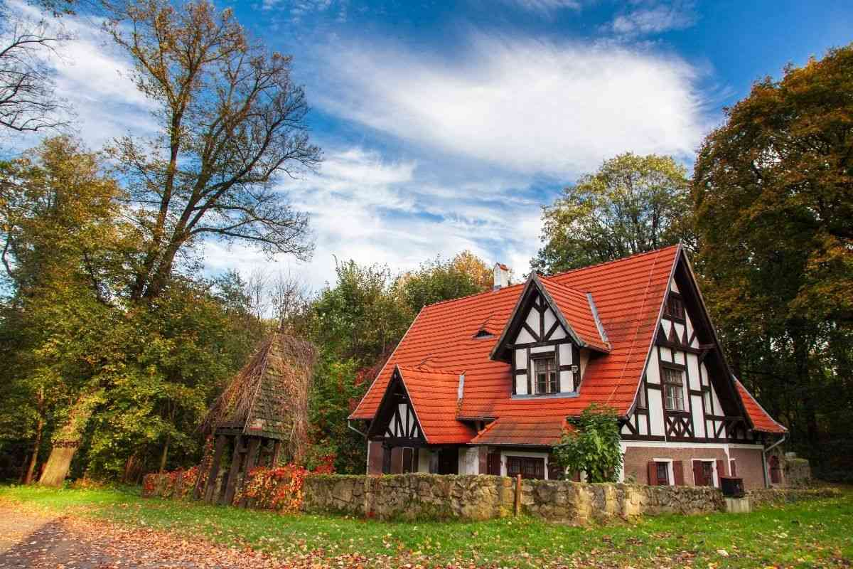 casa de campo no estilo chalé suíço