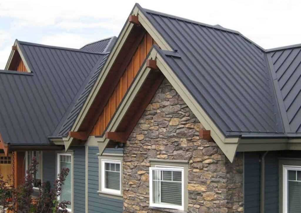 casa tradicional com telha térmica