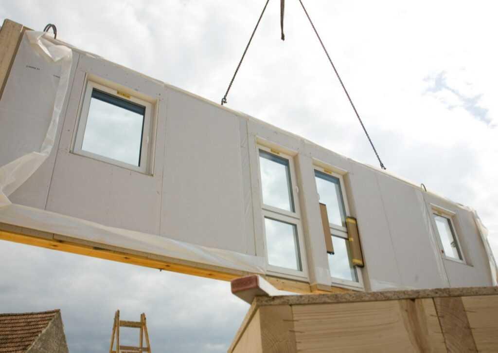 casas pré-montadas