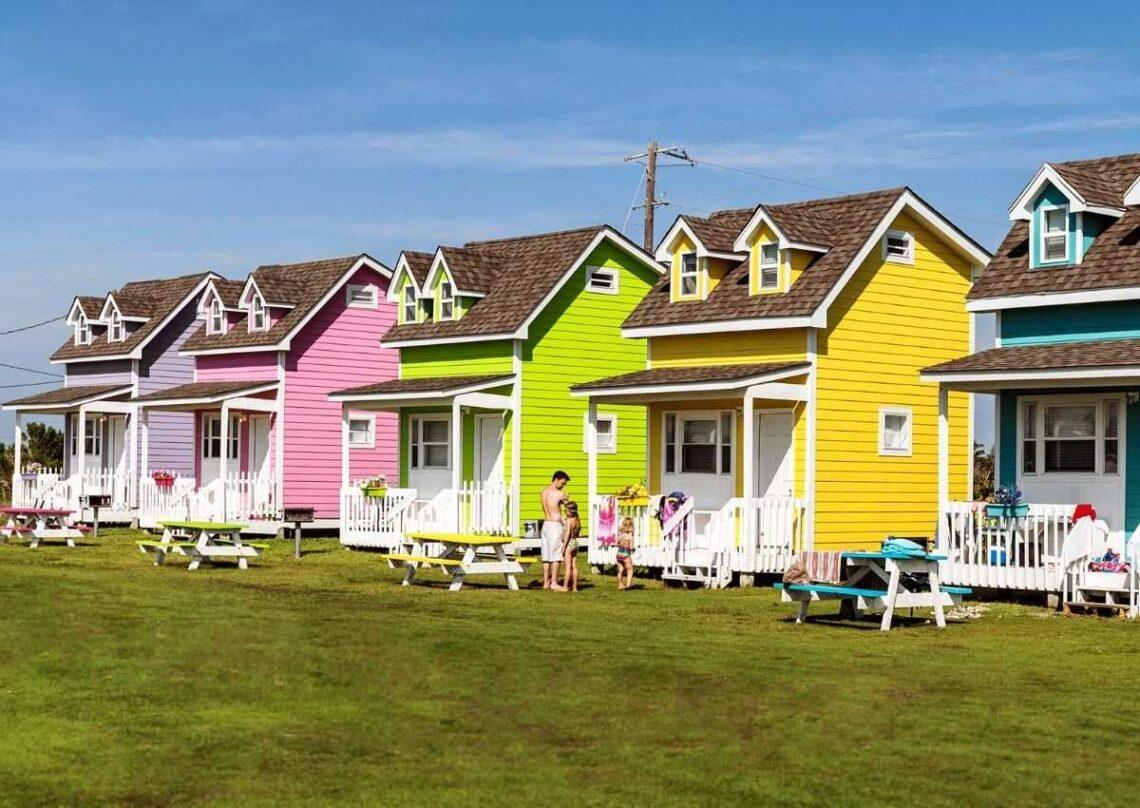 comunidade tiny house para pessoas desabrigadas