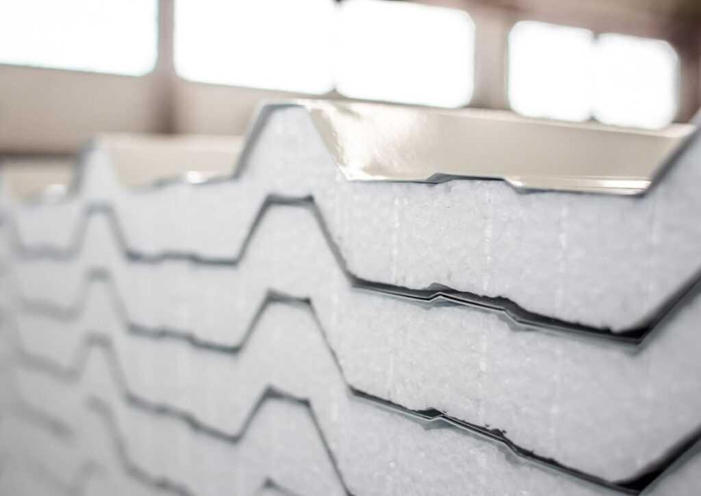 telha térmica de isopor