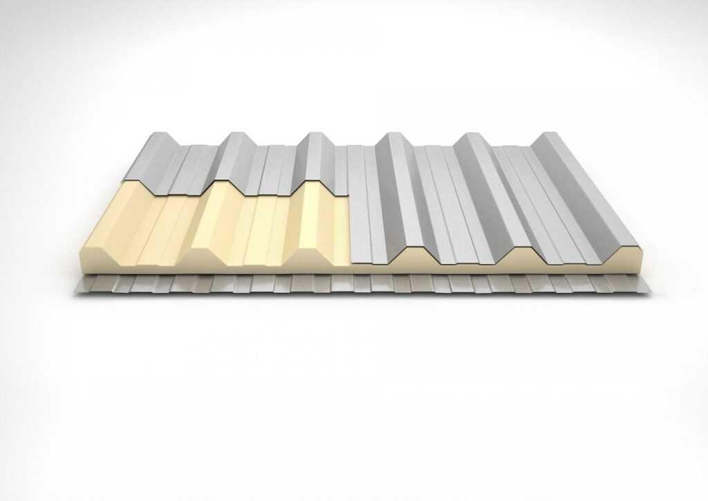 telha térmica de poliuretano