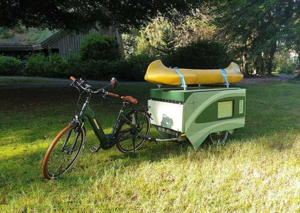 trailer para bicicleta foto 6