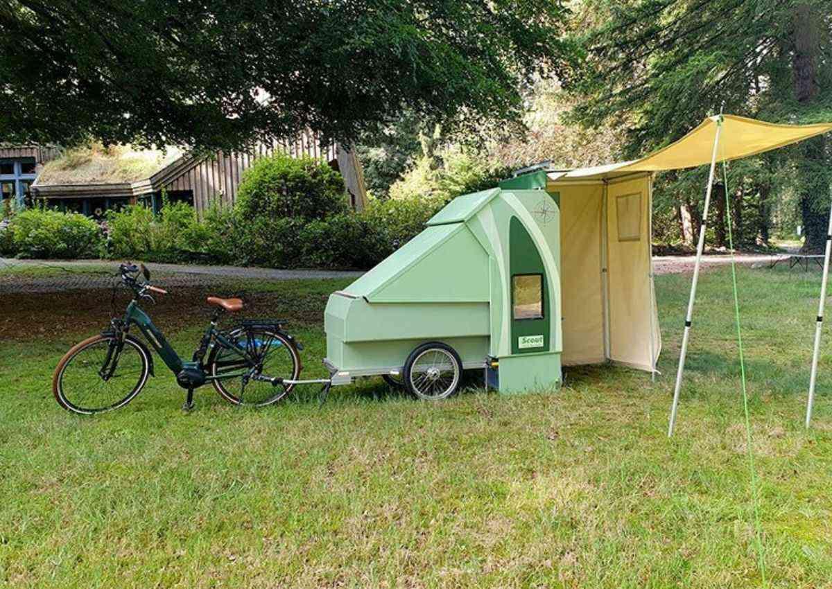 trailer para bicicleta