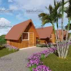 casa de madeira 1