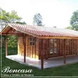 modelo de casa de madeira 2 quartos express 3