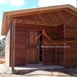 modelo de casa de madeira 3 quartos casa 3