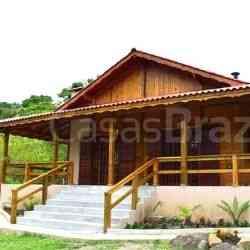 modelo de casa de madeira 4 quartos valaski