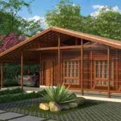 modelo de casa de madeira 4 quartos 1 pavimento 4