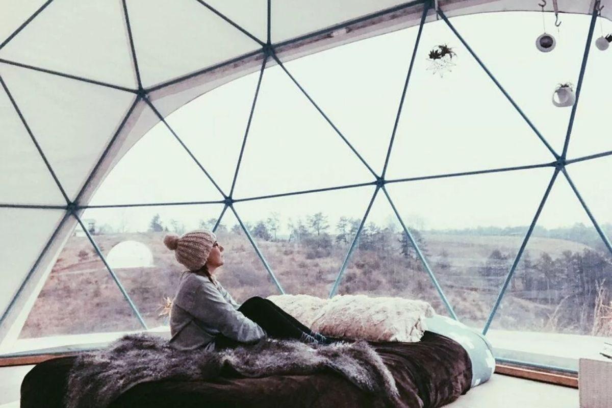Mini Casa domo geodesico